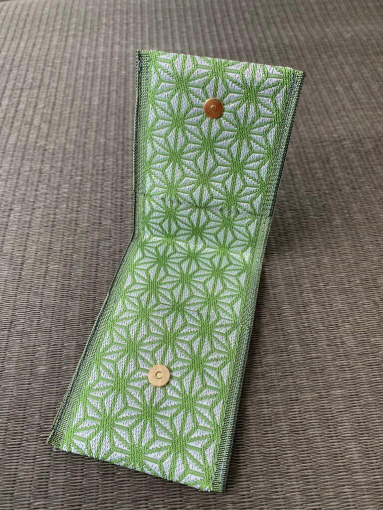 麻の葉 緑