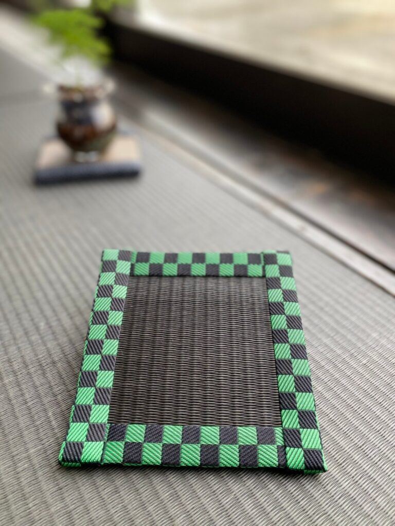 和柄 緑黒