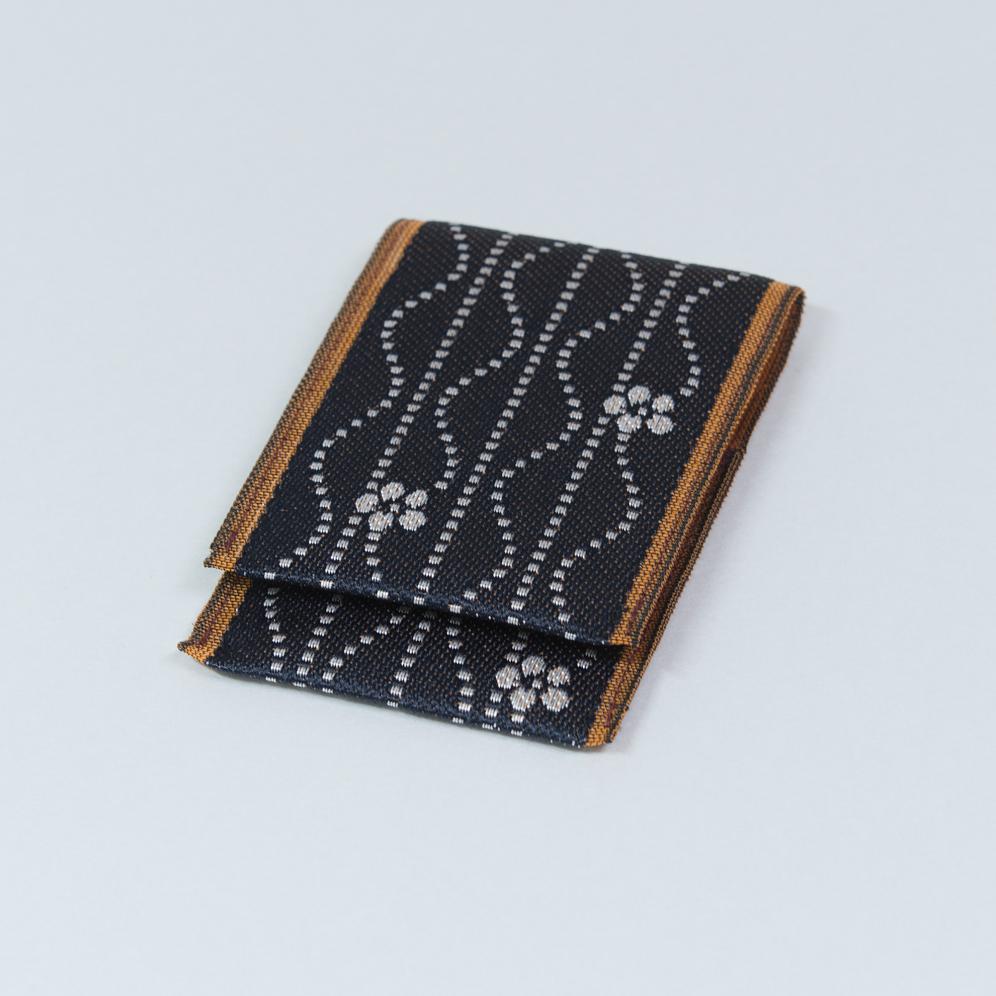 名刺カード入れ 波梅(紺)